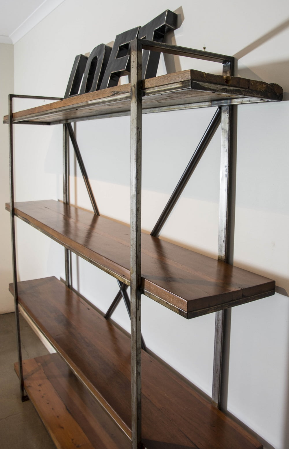 Industrial Shelving Unit Loft Furniture