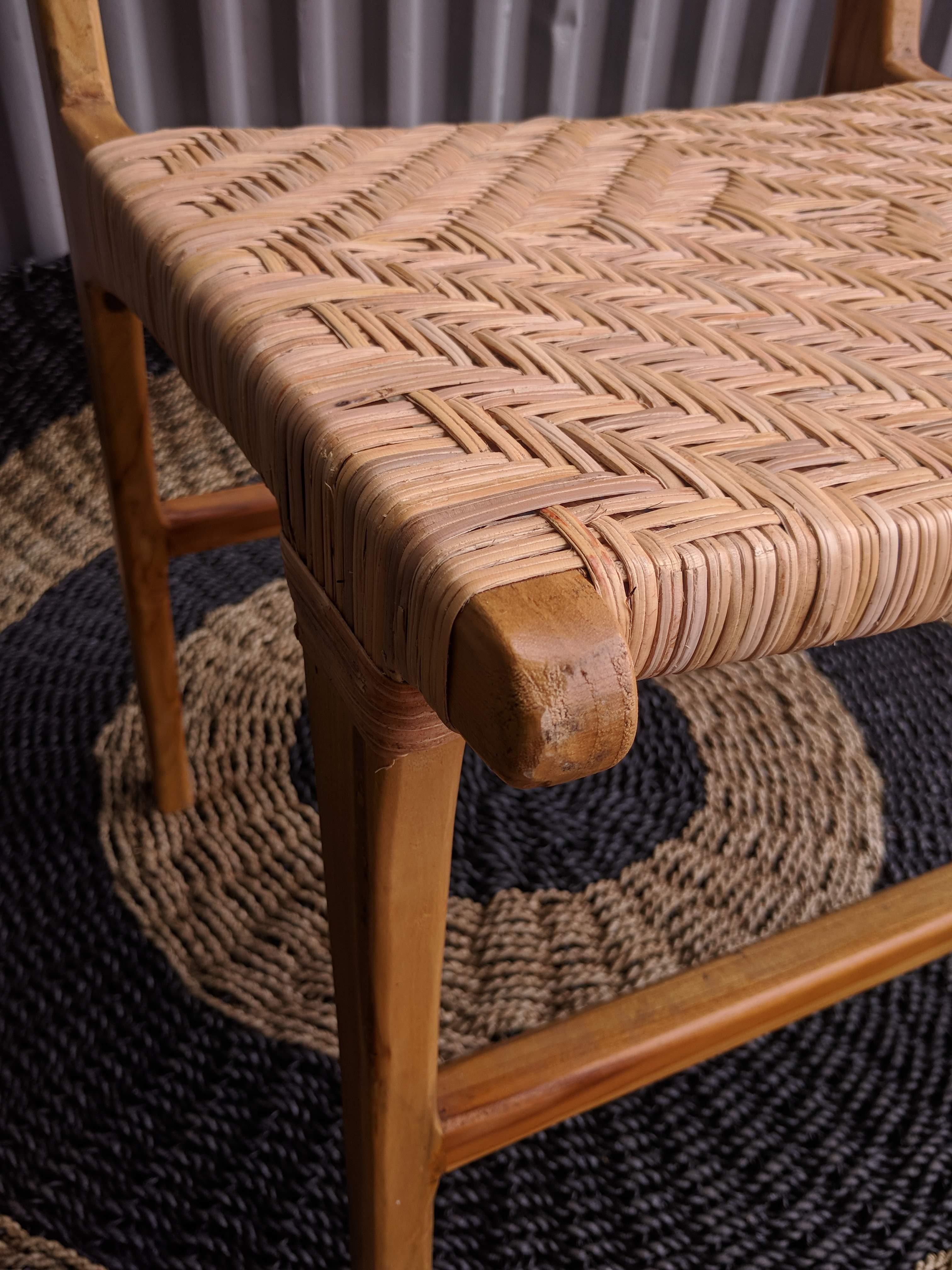 Loft Split Woven Rattan Dining Chairs Loft Furniture
