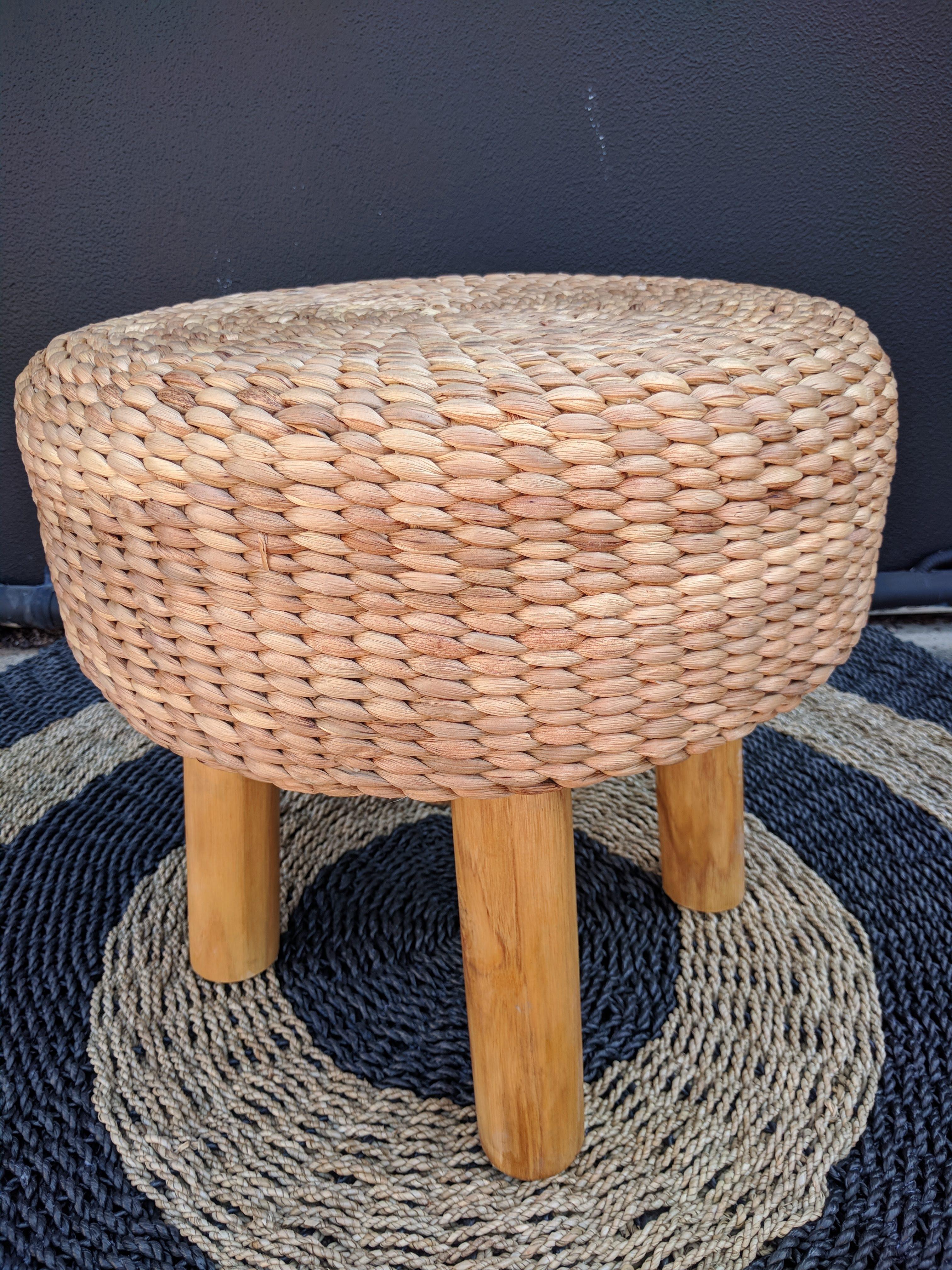 Loft Seagrass Footstool Loft Furniture