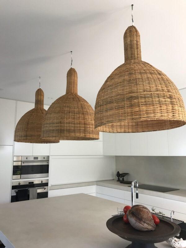 Loft Rattan Bell Pendant Loft Furniture